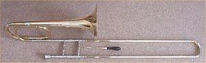 Bass trombone in F
