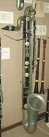 Besson contrabass clarinet, post-1890