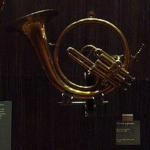 Cornet that looks like a French horn
