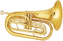 Marching baritone horn