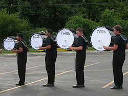 Revolution's bass drums warm up in 2007.