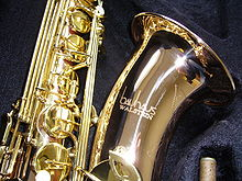 Tenor saxophone manufactured in 2008